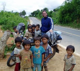 Ya no estoy en Vietnam, ahora... en Laos!  ;-)