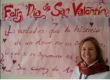 Hispanohablantes en DAA - Colleen Marte, profesora de español en secundaria.