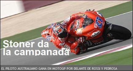 ¡Hoy ha comenzado el Campeonato del Mundo de Motociclismo!
