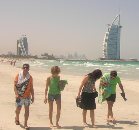 Sábado 7 de Abril – Playa + Wild Wadi + Karama