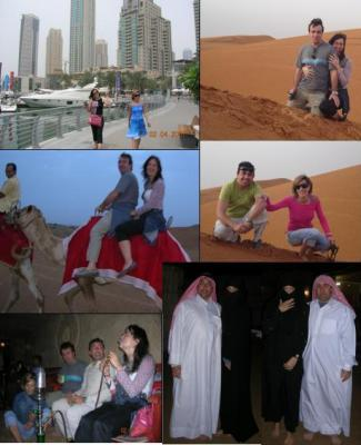 Lunes 2 de Abril – Dubai Marina y safari por el desierto