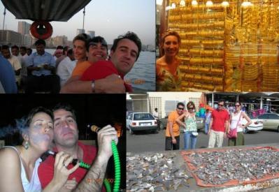 Domingo 1 de Abril – Zona del creek (mercado de pescado, zoco del oro, abras, zoco de ropa, bastakiya...)