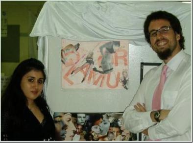 Con Mary Yateem y una de mis adquisiciones
