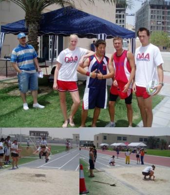 Campeonato de atletismo en DAA